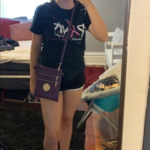 Handbags - NWOT MK purple crossbody purse